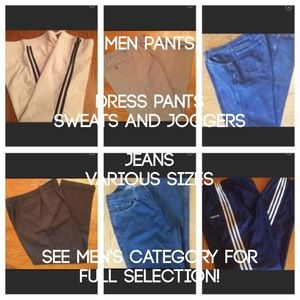 Other - Men's Pant Various Sizes and Colors